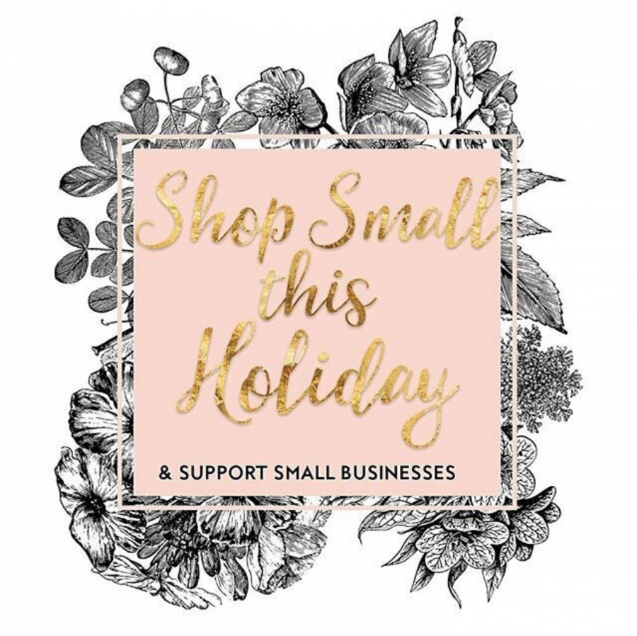 Stephanie%2C+owner+of+Giggleblossom+boutique%2C+posted+this+image+on+her+store%27s+Instagram+in+order+to+promote+Shop+Small+Saturday%2C+saying%2C+%22Make+it+a+point+to+shop+small+this+season%21%22+