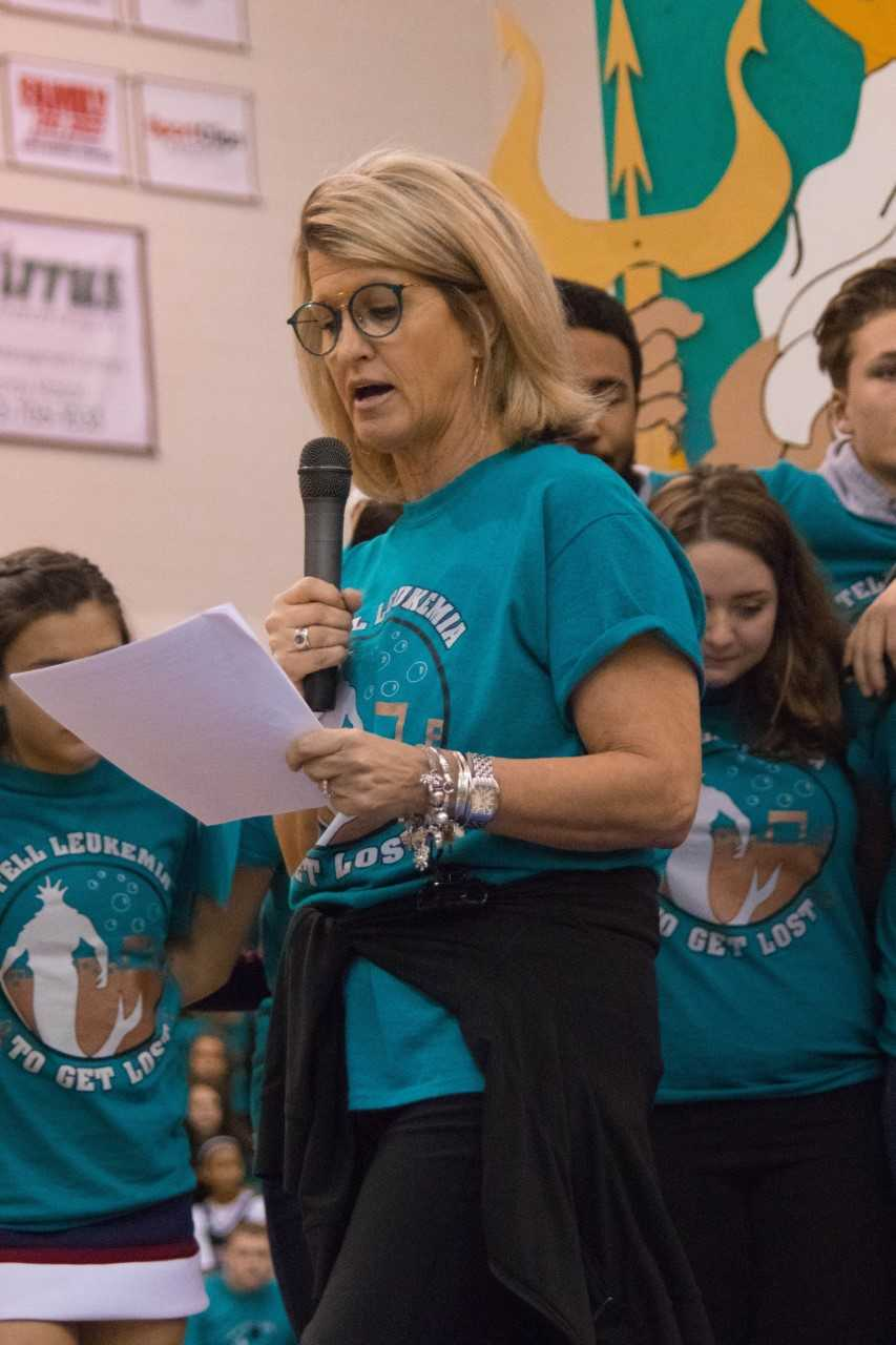 In her Wish Assembly speech on Friday, February 2, 2018, Ms. Tammy Johnson stated,