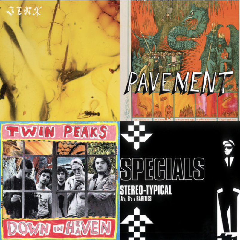 Album covers from some of this month's favorites!