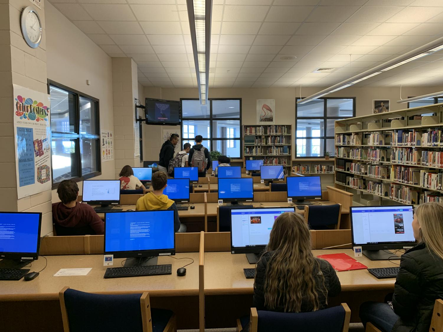 With laptops and phones in every hand, the internet is in use at any given moment. In CT's own library, the desktops hum while students browse, work, and play. Understanding safer ways to participate in those activities is an essential for them to learn.