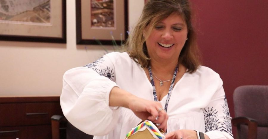 Mrs. Incitti in the (Gingerbread) House