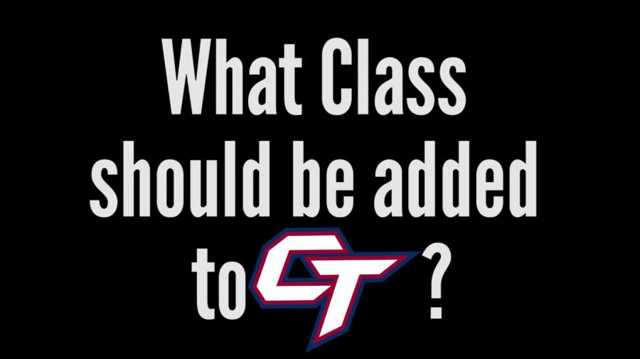 What class should be added to CT?
