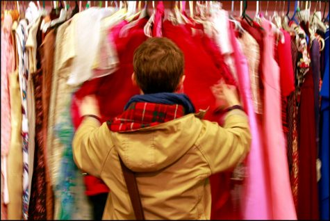 Vintage clothing seems to be flying off the racks. The 90's are making a big comeback in stores, and it seems to only be growing more popular by the minute. Photo courtesy of Joseph Brent