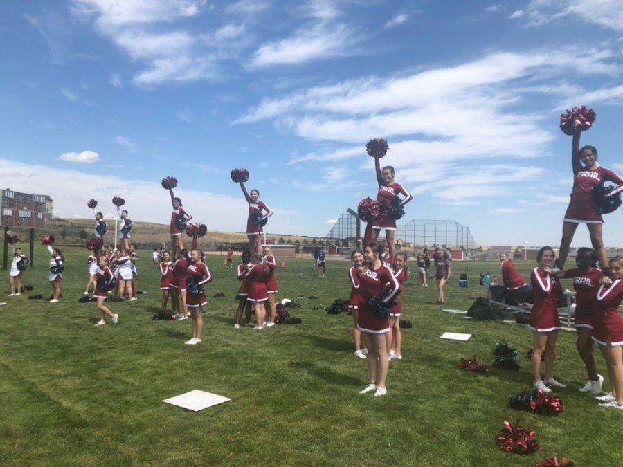 Cheerleaders%2C+dancers%2C+and+gymnasts+prove+they+are+more+than+just+a+sport.+CT+cheerleaders+hold+preps+during+football+season%2C+demonstrating+upmost+athletic+ability.+Photo+courtesy+of+Pamela+Semple.+