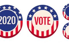 """VOTE.  As we approach the upcoming election, both students and citizens recognize the importance of  voting. """"I think it is very important that teens are encouraged to engage with politics and involved in political activities,"""" Julia Galaz (12). Photo courtesy of iStock 9.29.20."""