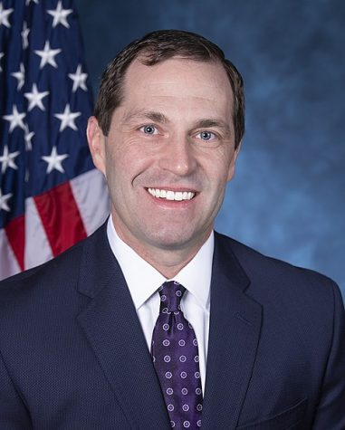 United States Representative for Colorado sixth congressional district and US Army veteran, Jason Crow. Photo courtesy of The United States Congress