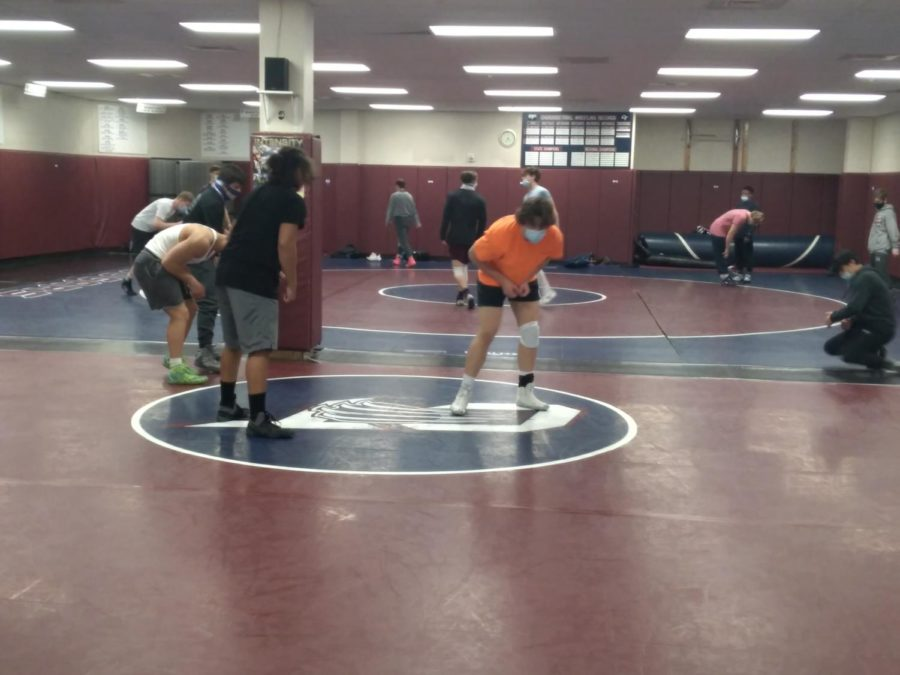 Cherokee+Trails+wrestling+team+is+warming+up+to+start+practice+on+Mar.+4%2C+one+day+before+Region+2s+regional+match+which+was+hosted+by+CT.+Some+changes+I+had+to+do+were+practice+harder+and+longer+with+having+matches+go+by+faster.+I+had+to+switch+up+my+warm+up%2C+says+Derek+Glenn+Jr.+%2811%29%2C+State+champion+searching+to+return+to+the+podium+once+again.+That+weeks+practice%2C+along+with+all+season+soon+showed+to+pay+off%2C+during+the+next+two+days+of+competition.+
